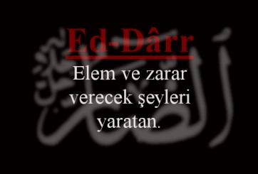 Ed-Darr Esmasının Anlamı ve Faziletleri