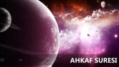 Photo of Ahkaf Suresi Meali