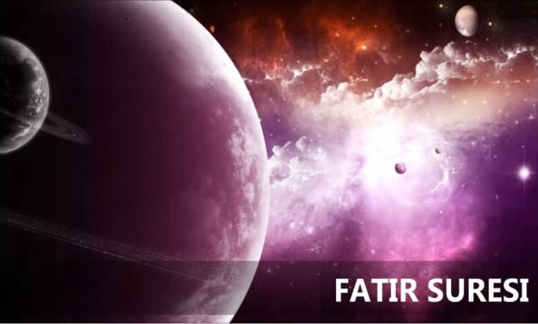Photo of Fatır Suresi Meali