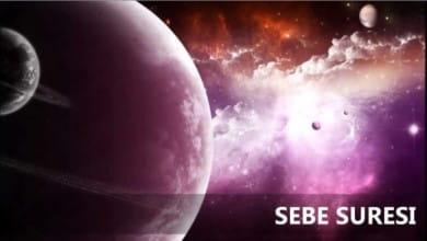 Photo of Sebe Suresi Meali