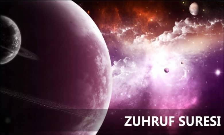 Photo of Zuhruf Suresi Meali