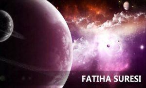 Fatiha Suresi Türkçe Meali