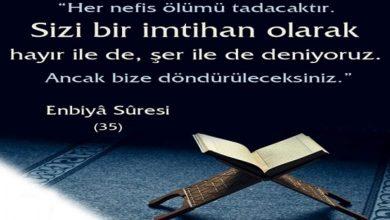 Photo of Enbiya Suresinin Fazilet ve Sırları