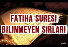 Photo of Fatiha Suresinin Sırları