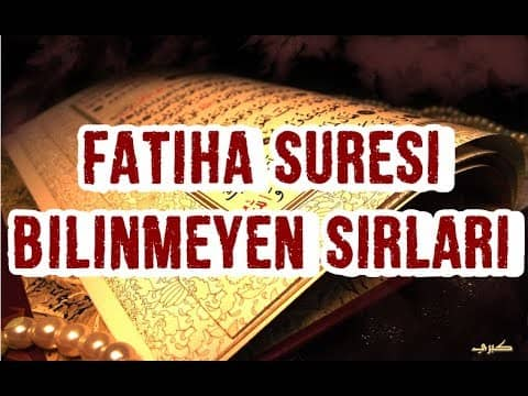 Photo of Fatiha Suresinin Sırları