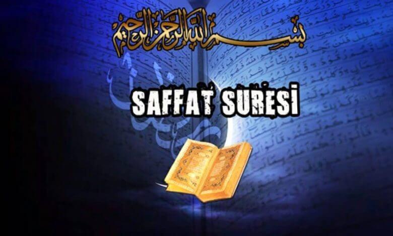 Photo of Saffat Suresi'nin Fazilet ve Sırları