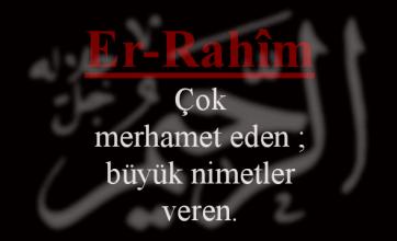 Photo of Er-Rahim Esmasının Anlamı ve Faziletleri