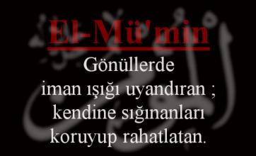 Photo of El-Mü'min Esmasının Anlamı ve Faziletleri