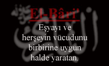 Photo of El-Bari Esmasının Anlamı ve Faziletleri