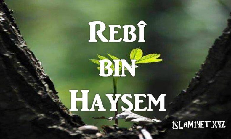 Rebî bin Haysem