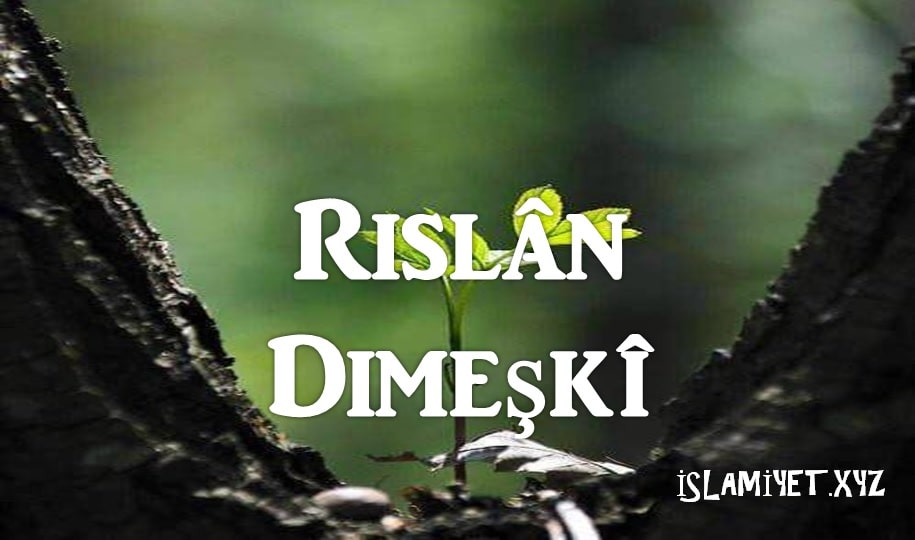 Photo of Rislân Dımeşkî