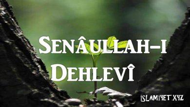 Photo of Senâullah-i Dehlevî