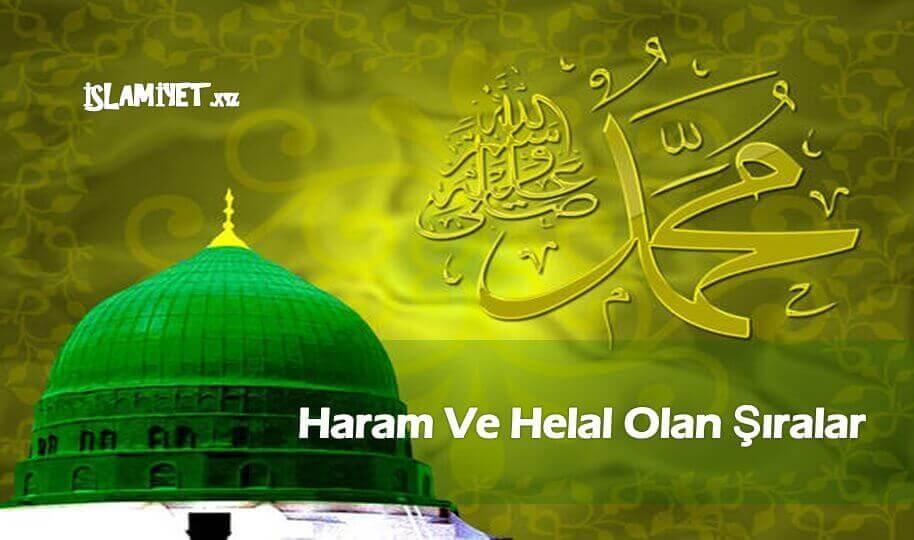 Haram Ve Helal Olan Şıralar