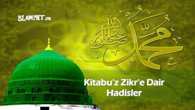 Photo of Kitabu'z Zikr'e Dair Hadisler