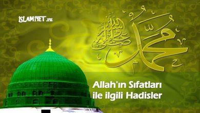 Photo of Allah'ın Sıfatları ile ilgili Hadisler