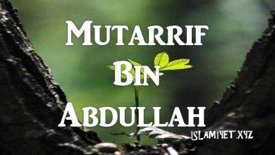 Photo of Mutarrif bin Abdullah